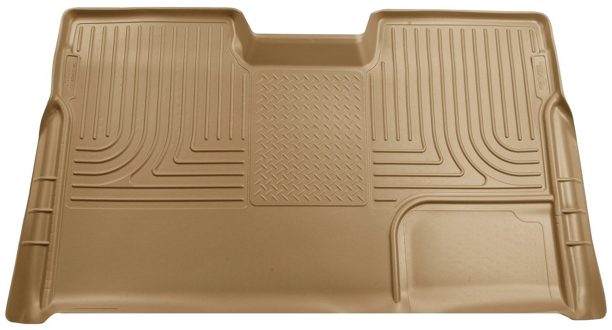2009-2012 Ford F-150 Super Crew WeatherBeater Tan Rear Cargo Liner by Husky Liners (19333) - Modern Automotive Performance