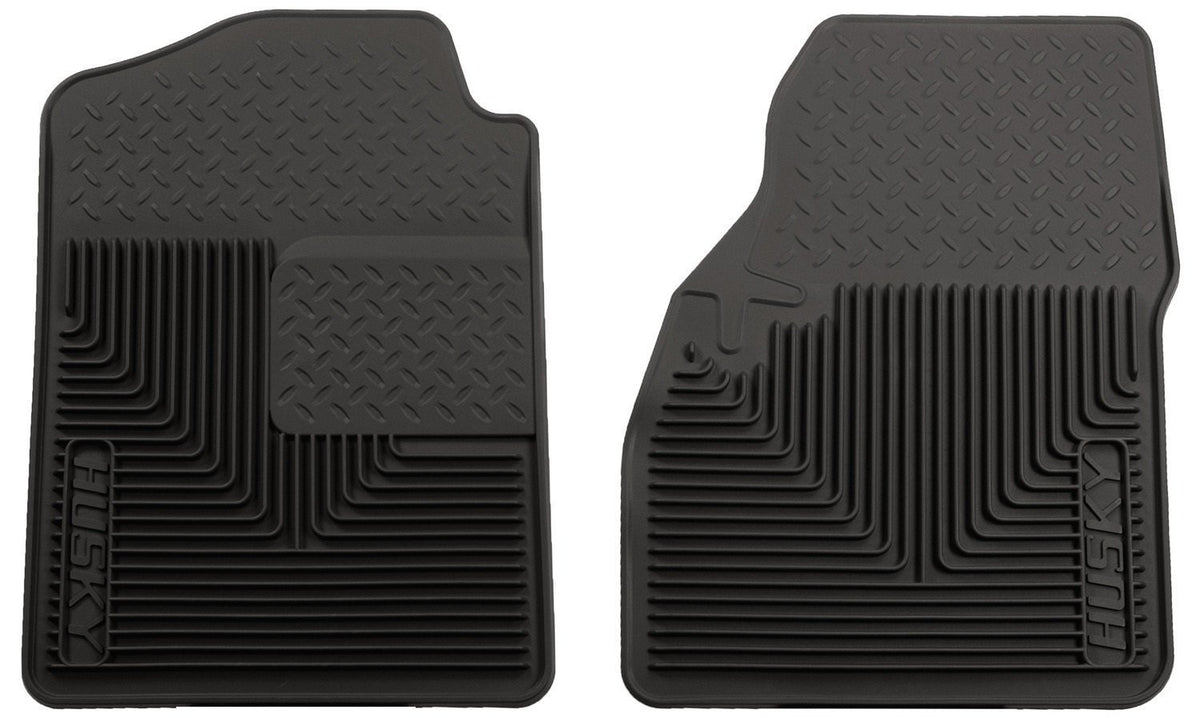 2000-2006 Chevy Silverado/Suburban/GMC Sierra/Yukon Heavy Duty Black Front Floor Mats by Husky Liners (51031) - Modern Automotive Performance