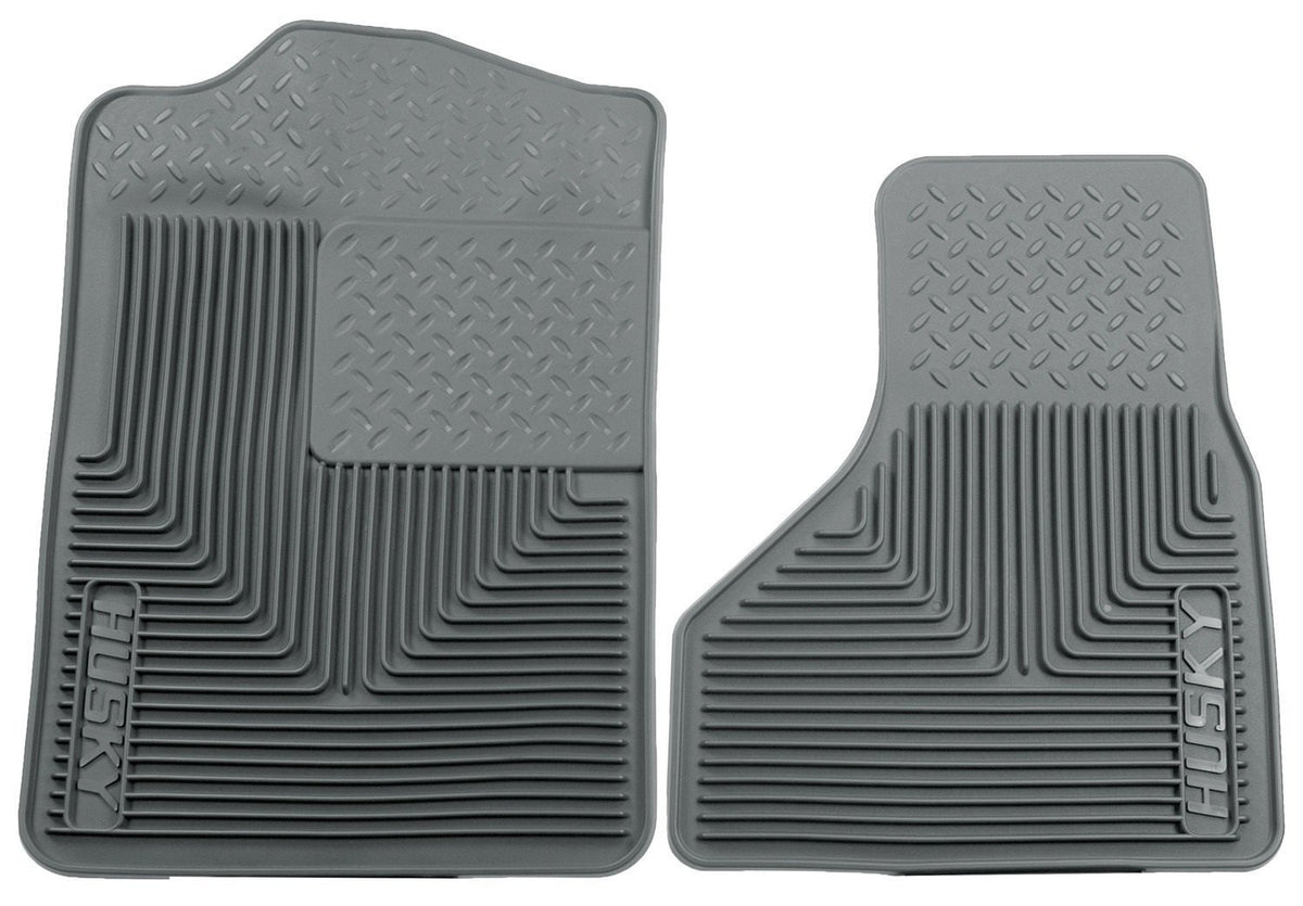 2008-2010 Ford F-250/F-350/F-450 SuperDuty Heavy Duty Gray Front Floor Mats by Husky Liners (51202) - Modern Automotive Performance