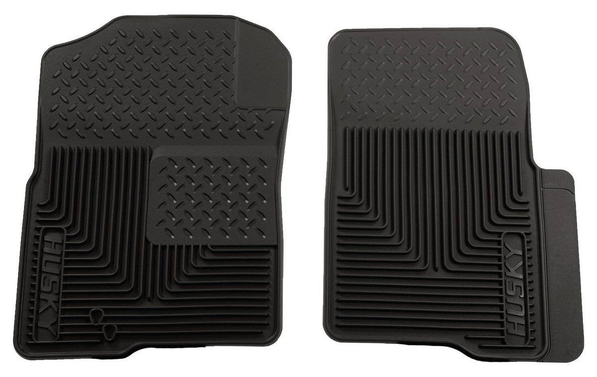 2004-2009 Ford F-150 Custom Fit Heavy Duty Black Front Floor Mats by Husky Liners (51231)