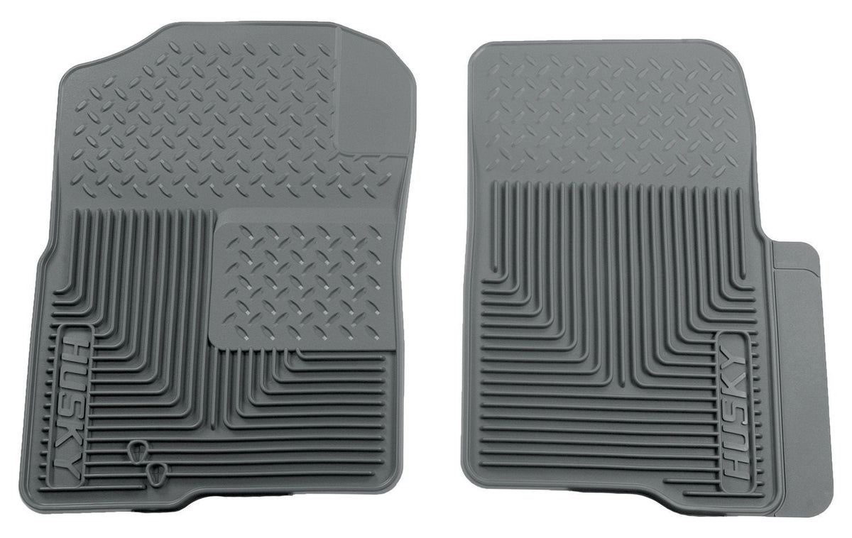 2004-2009 Ford F-150 Custom Fit Heavy Duty Gray Front Floor Mats by Husky Liners (51232)
