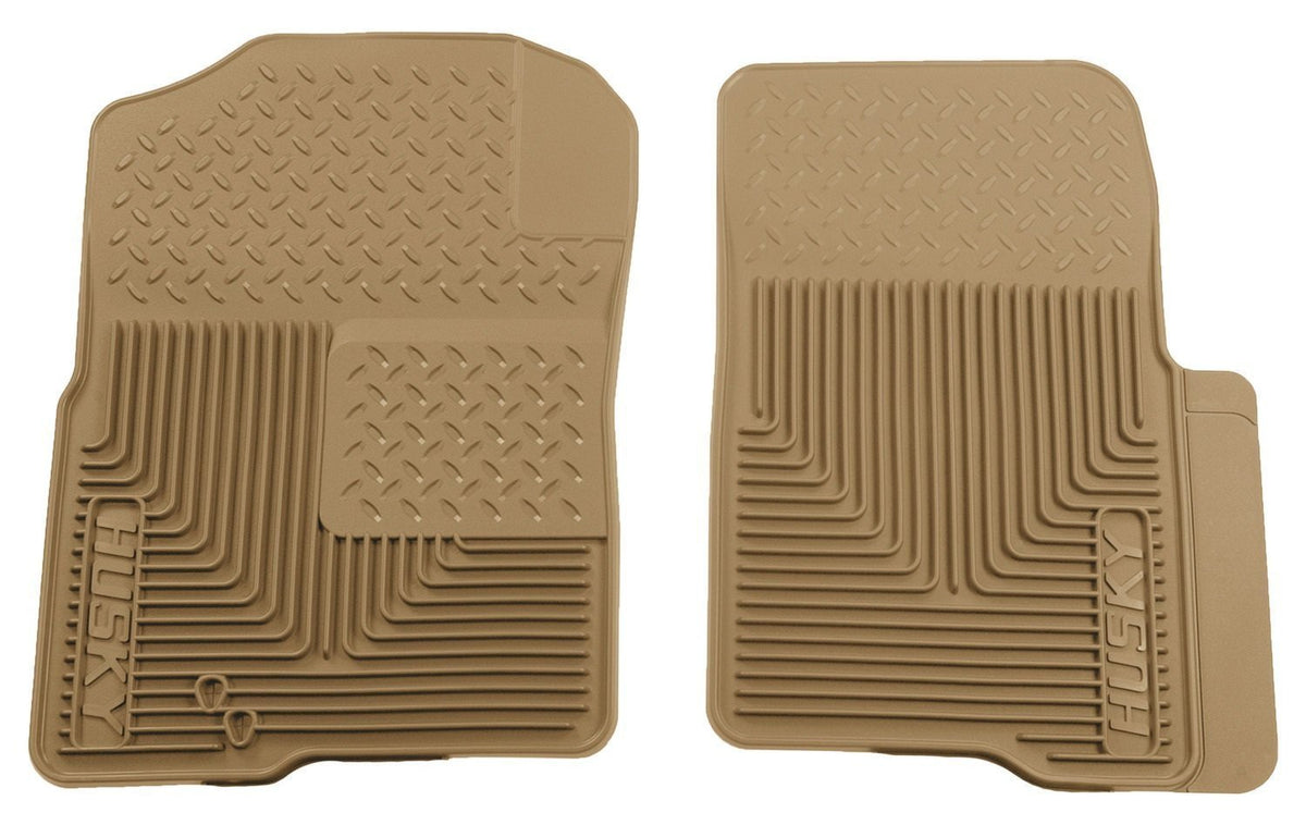 2004-2009 Ford F-150 Custom Fit Heavy Duty Tan Front Floor Mats by Husky Liners (51233)