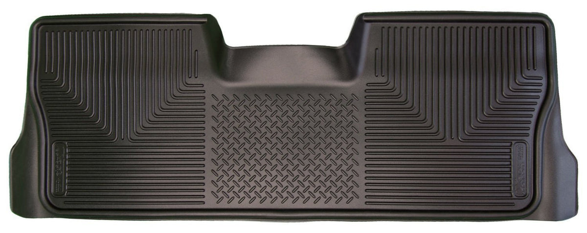 2009-2012 Ford F-150 Reg/Super/Crew Cab X-Act Contour Black Floor Liners (2nd Seat) by Husky Liners (53411) - Modern Automotive Performance