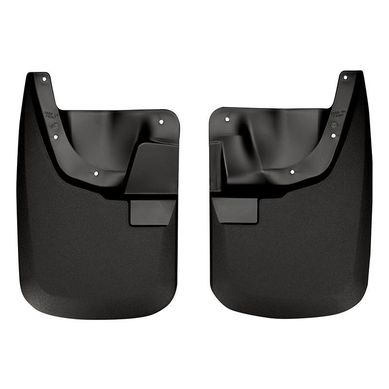 2011-2012 Ford F-250/F-350 SuperDuty Custom-Molded Front Mud Guards by Husky Liners (56681) - Modern Automotive Performance