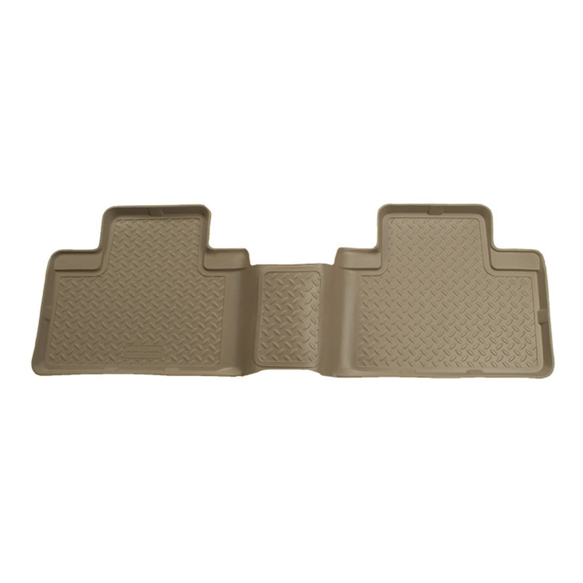 1988-2000 GM Full Size Truck 3DR/Ext. Cab Classic Style 2nd Row Tan Floor Liners by Husky Liners (61103) - Modern Automotive Performance