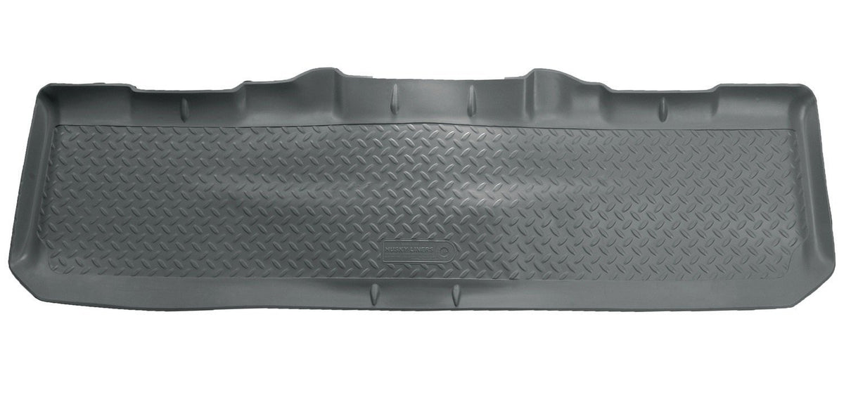 1999-2007 Ford F-250/F-550 Super Duty Crew Cab Classic Style 2nd Row Gray Floor Liners by Husky Liners (63812) - Modern Automotive Performance