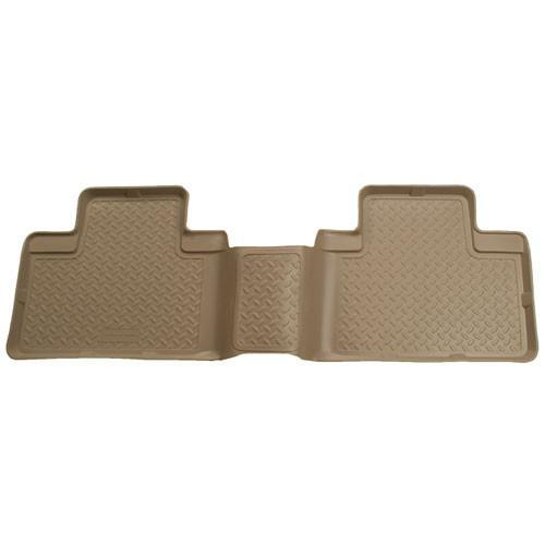 2004-2007 Ford F-250/F-550 Super Cab Classic Style 2nd Row Tan Floor Liners by Husky Liners (63873) - Modern Automotive Performance