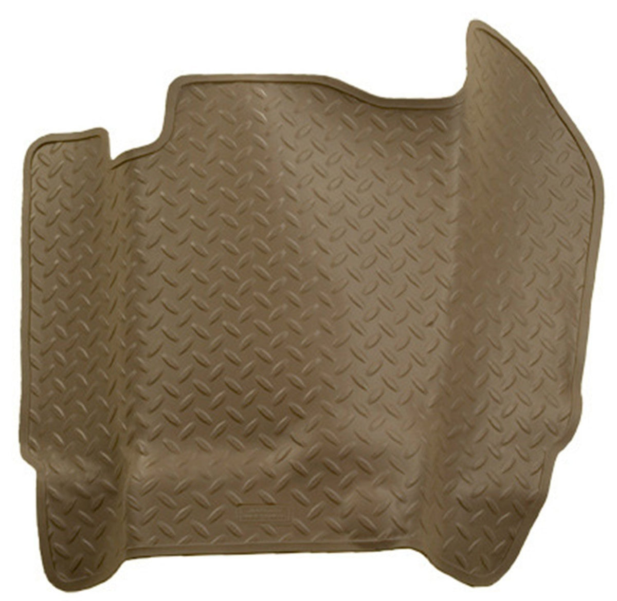 2000-2005 Ford F-250-F-550 HD Classic Style Center Hump Tan Floor Liner (Auto Trans.) by Husky Liners (82453)