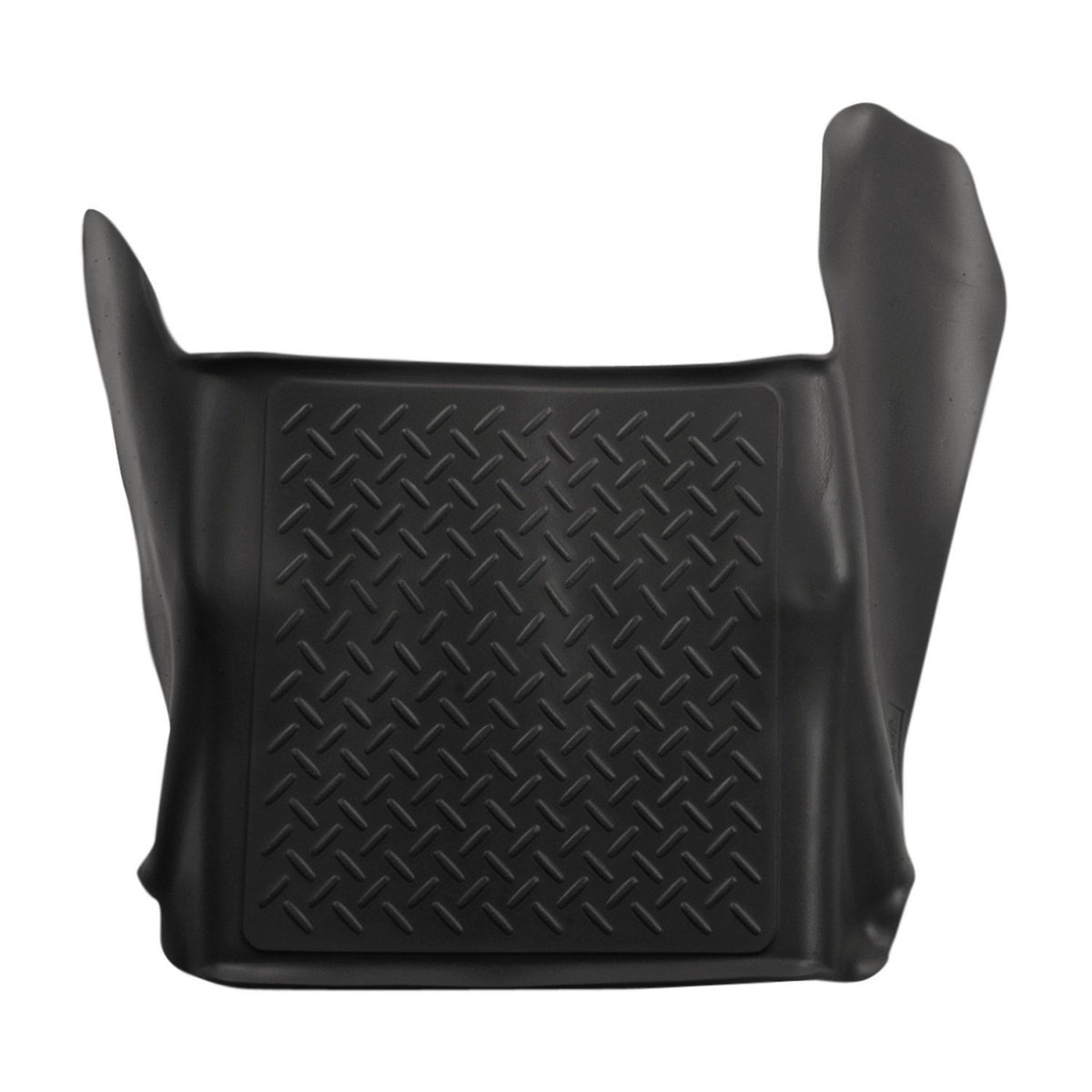 2009-2011 Ford F-150 Super/Crew Cab Classic Style Center Hump Black Floor Liner by Husky Liners (83421) - Modern Automotive Performance