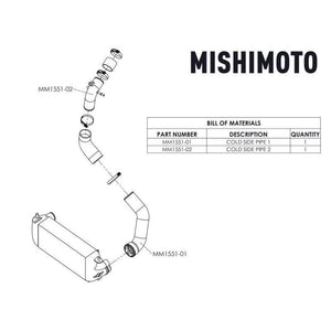 Mishimoto Cold-Side Intercooler Pipe Kit | 2017-2019 Ford F150 EcoBoost 3.5L (MMICP-F35T-17C)-thumbnail