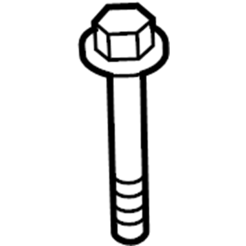 Ford OEM Hex Head Bolt | Multiple Ford Fitments (W500300S437)