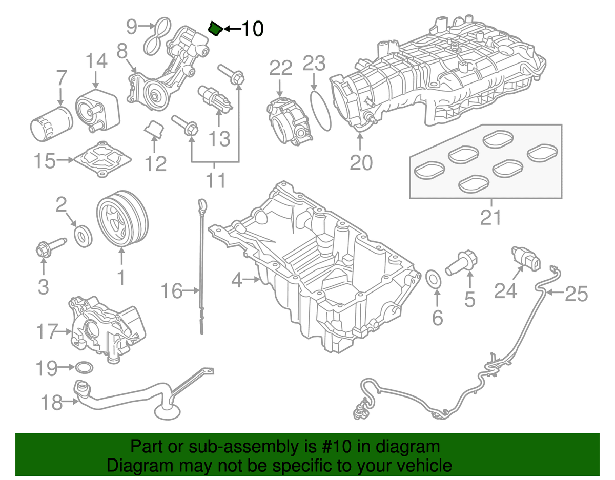 Ford OEM Adapter Plug | Multiple Ford Fitments (W528207-S437)