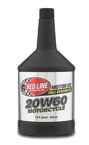 20W60 Synthetic Motor Oil 1 Quart Red Line Oil