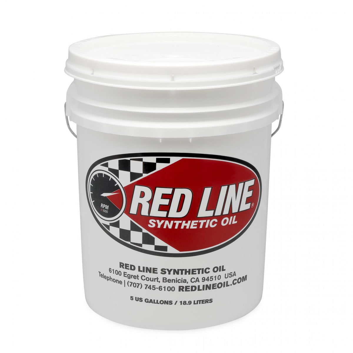 20W60 Synthetic Motor Oil 5 Gallon Red Line Oil