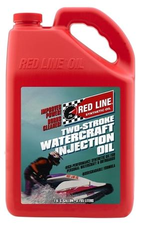 2 Stroke Injection Oil Synthetic Watercraft 1 Gallon Red Line Oil-thumbnail