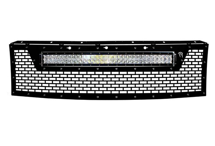 10-14 F-150 Raptor LED Grille by Rigid Industries (41572) - Modern Automotive Performance  - 1