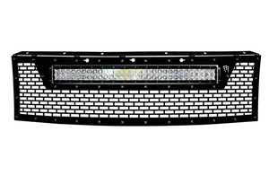 10-14 F-150 Raptor LED Grille by Rigid Industries (41572) - Modern Automotive Performance  - 1-thumbnail