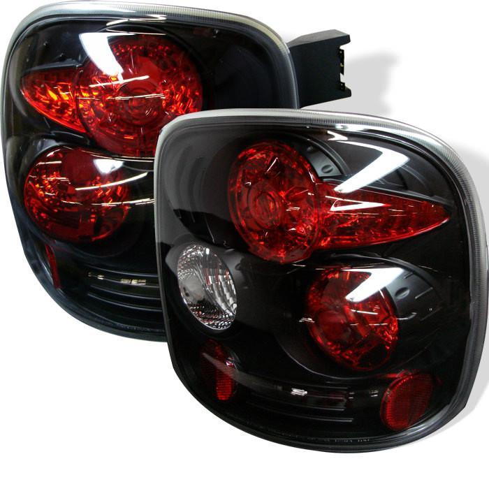 Spyder Auto Chevy Silverado Stepside 99-04 Euro Style Tail Lights - Black - Modern Automotive Performance