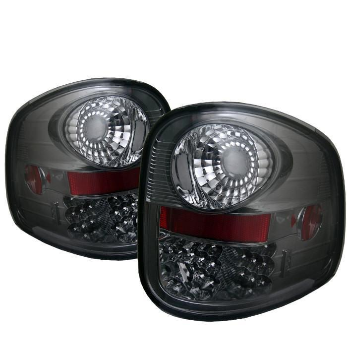 Spyder Auto  Ford F150 Flareside 97-03 LED Tail Lights - Smoke - Modern Automotive Performance