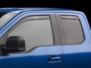 WeatherTech Front & Rear Side Window Deflectors | 2015-2020 Ford F-150 SuperCab (7/84765)-thumbnail