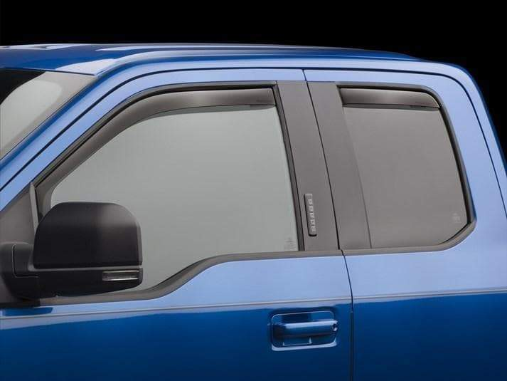 WeatherTech Front & Rear Side Window Deflectors | 2015-2020 Ford F-150 SuperCab (7/84765)