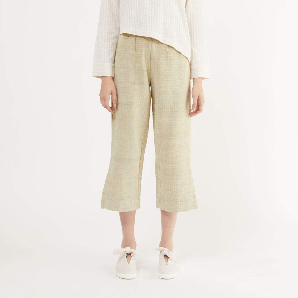 TAKTAI Pants S Let's Relax Buttoned Pants