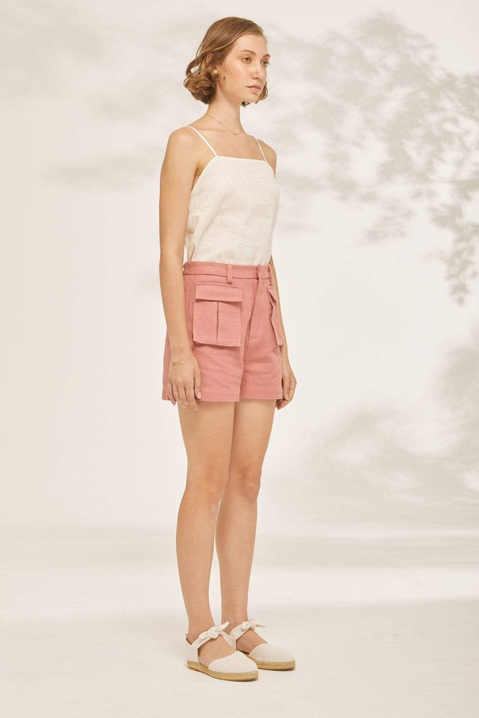 TAKTAI Shorts Double Pocket Shorts