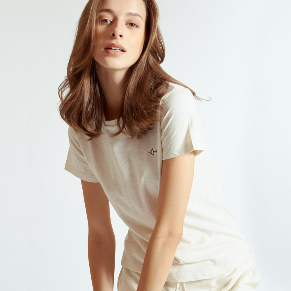 TAKTAI T-Shirt S / Natural Basic T-Shirt