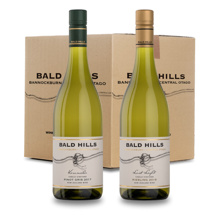 Awesome Aromatics Case Deal ~ Pinot Gris 2017 & Riesling 2018