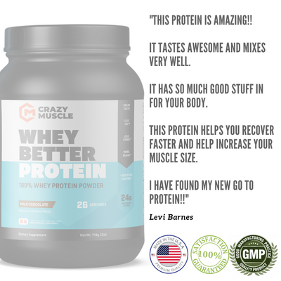 Whey Better Protein