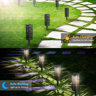 Upflas - FlameBrite Solar Pathway Lights