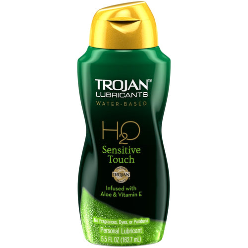 Trojan H2O Sensitive Touch Lubricant 5.5oz - Sexy Nights Deals
