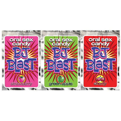 BJ Blast Oral Sex Candy 3 Pack - Sexy Nights Deals