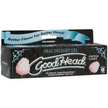 Load image into Gallery viewer, Goodhead Oral Delight Gel Cotton Candy Tube 4oz - Sexy Nights Deals
