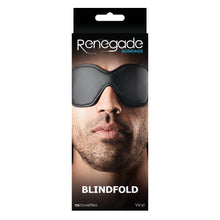 Load image into Gallery viewer, Renegade Bondage Blindfold - Black - Sexy Nights Deals