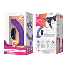 Load image into Gallery viewer, Pegasus 6 Inch Curved Realistic Peg - Purple - Sexy Nights Deals