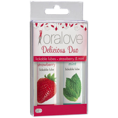 Oralove Delicious Duo Flavored Lube - Sexy Nights Deals