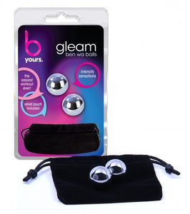 Gleam Ben Wa Balls Silver - Sexy Nights Deals