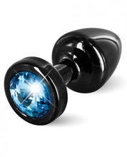 Load image into Gallery viewer, Diogol Anni Round Black T1 Butt Plug - Sexy Nights Deals