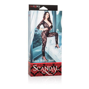 Scandal Lace Body Suit Black O/S - Sexy Nights Deals
