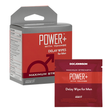Load image into Gallery viewer, Power + Delay Wipes With Yohimbe 10 Pack - Sexy Nights Deals