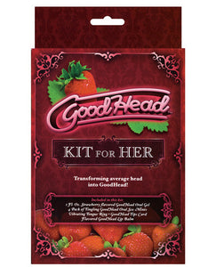 GoodHead Kit For Her - Strawberry - Sexy Nights Deals