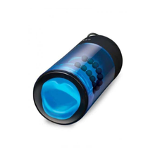 Load image into Gallery viewer, Zolo Blowpro Auto Stroking Blowjob Stimulator Blue - Sexy Nights Deals
