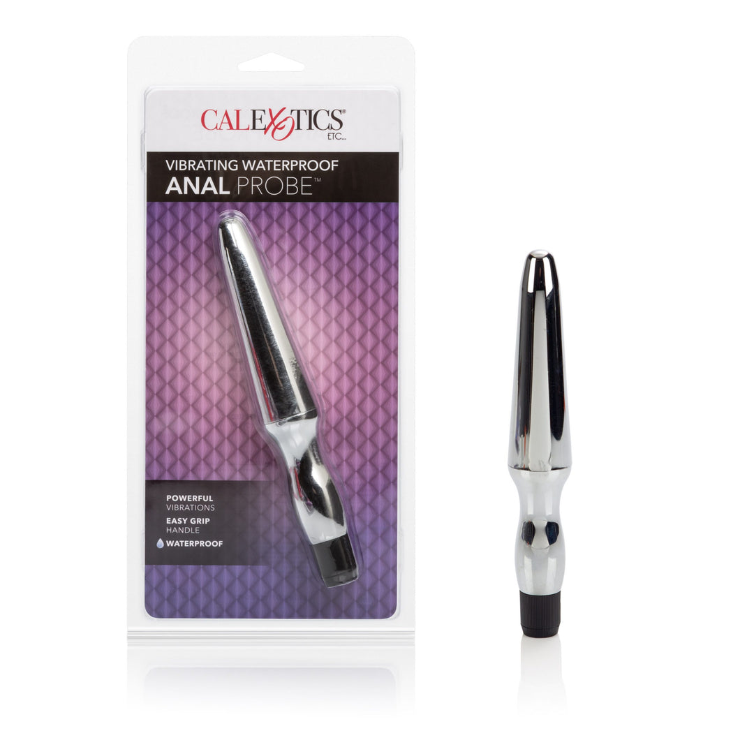 Fujikos Waterproof Anal Probe - Silver - Sexy Nights Deals