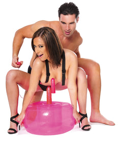Fetish Fantasy Series Inflatable Pink Hot Seat - Sexy Nights Deals
