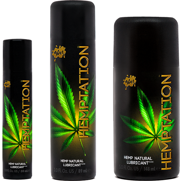 Wet Hemptation All Natural Lubricant - Sexy Nights Deals