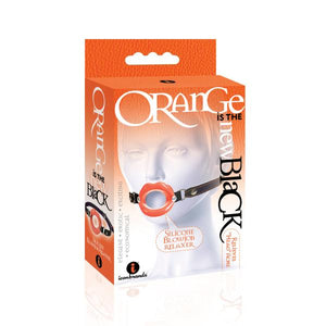 Orange Is The New Black Silicone Blow Job Relaxer Mouth Gag - Sexy Nights Deals