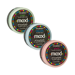 Mood Arousal Gels - Warm, Tingle, Intensify - Sexy Nights Deals