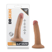 Load image into Gallery viewer, Dr. Skin - 5.5 Inch Cock With Suction Cup - Sexy Nights Deals