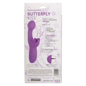 Rechargeable Butterfly Kiss Vibrator - Sexy Nights Deals